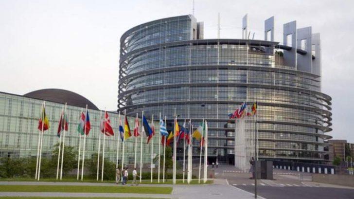 strasburgo veduta del parlamento europeo